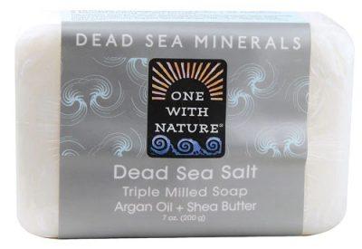 Amazon.com : One With Nature Dead Sea Mineral Soap, Dead